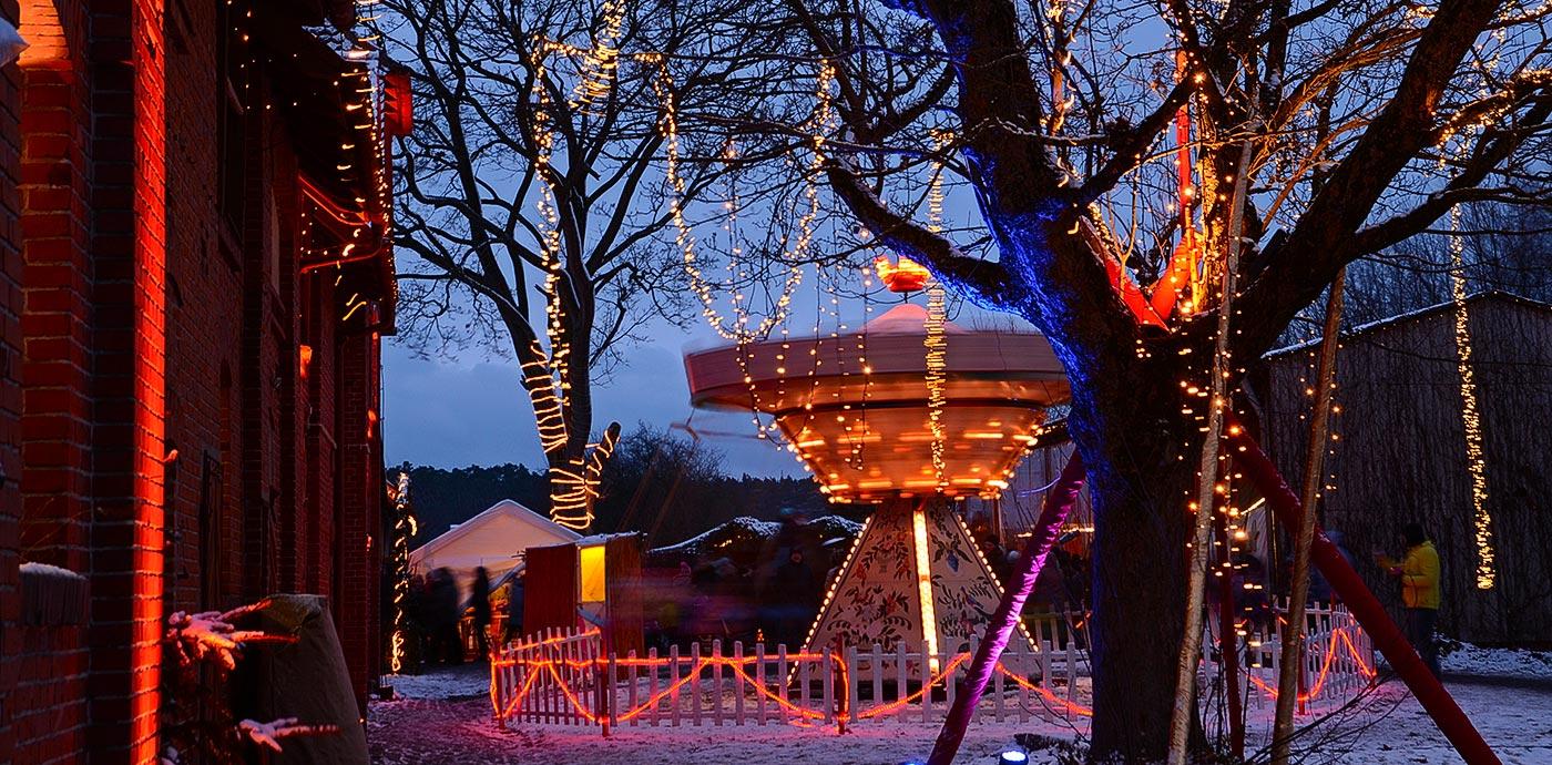Romantischer Weihnachtsmarkt.Romantischer Weihnachtsmarkt Gut Wolfgangshof Bei Nürnberg